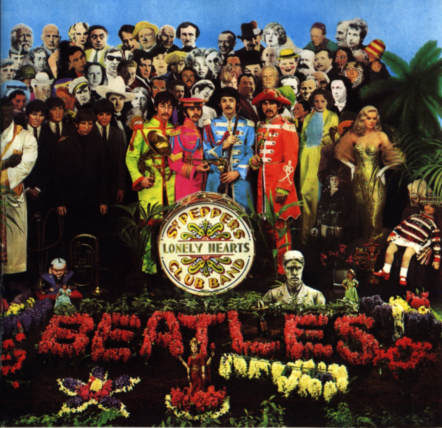 The Beatles - Sgt. Pepper's Lonely Hearts Club Band- 1967 Sgt-pepper